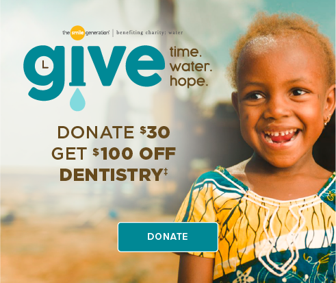 Donate $30, Get $100 Off Dentistry - Cypress Dentistry and Orthodontics
